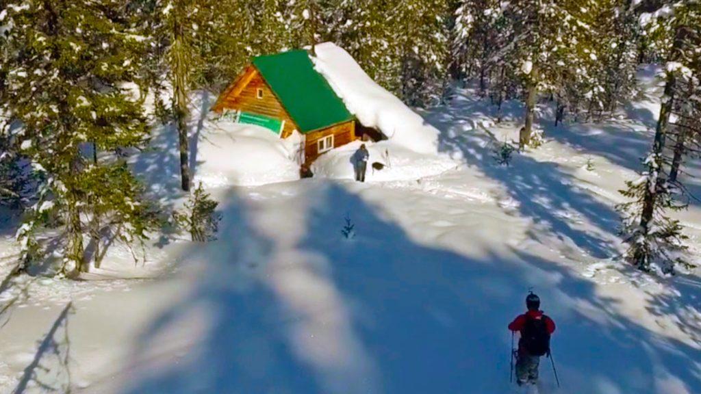 Unsere Ski-Hütte in Sibirien
