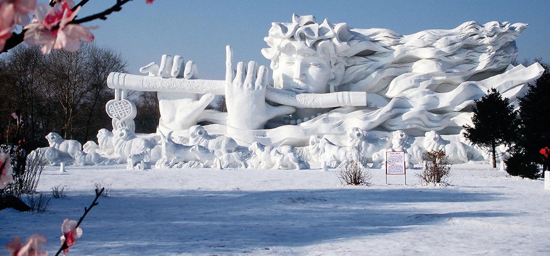 Vom Eis am Baikalsee zum Eis-Festival in Harbin (2019/2020)