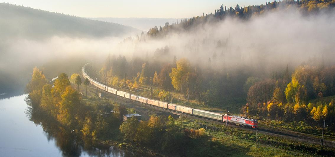 Die klassische Route der Transsibirischen Eisenbahn (2019)